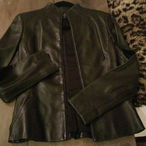 Jackets & Blazers - Eric Gaskins Couture Lamb Leather Jacket